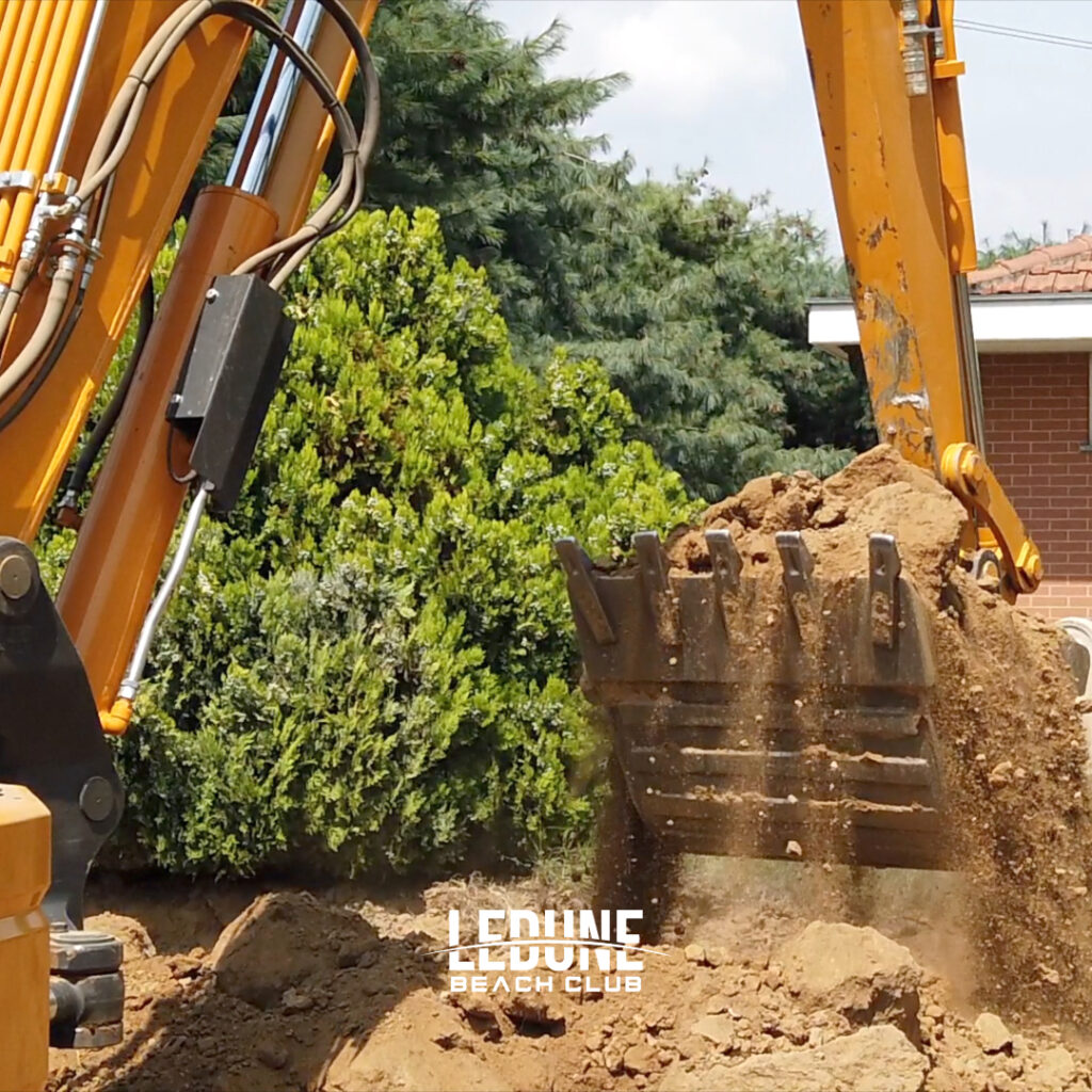 Iniziati gli scavi… ora si fa sul serio!