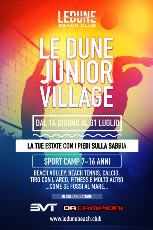 FLYER le dune junior village 2021