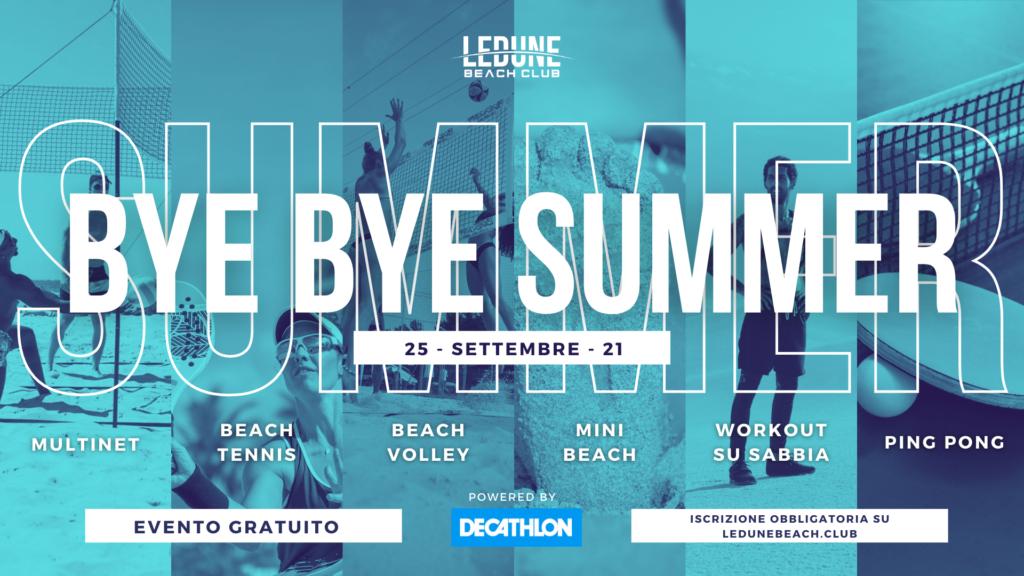 Evento Le Dune Beach Club Beinasco